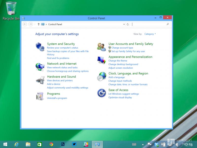 Зайти в панель управления Windows 10