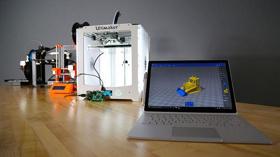 Удалить опцию «3D-печать с помощью 3D Builder» из контекстного меню Проводника Windows 10