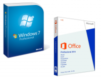 Windows 7 Pro + Office 2013 Pro