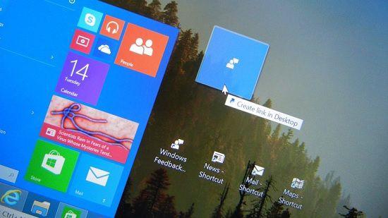 Автоматическое расположение ярлыков на «Рабочем столе» в Windows 10