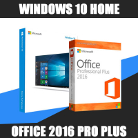 Windows 10 Home + Office 2016 ProPlus