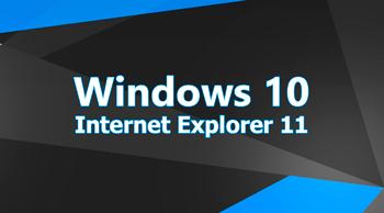 Internet Explorer в Windows 10
