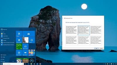 Как настроить ClearType в Windows 10