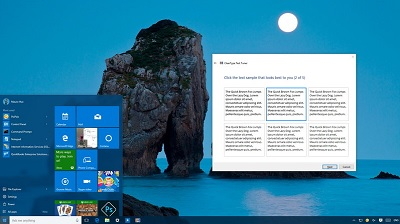 Как настроить ClearType в Windows 10