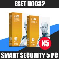 ESET NOD32 Smart (internet) Security 5PC