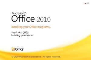 Office 2010 для Windows 10