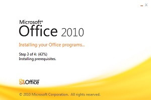 Office 2010 для Windows 10