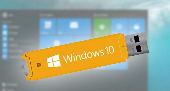 Создать загрузочную флешку Windows 10 из iso