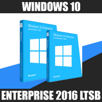 Windows 10 Enterprise 2016 LTSB 2ПК