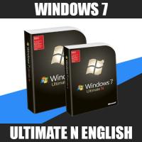 Windows 7 Ultimate N English (x32-x64)