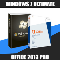 Windows 7 Ultimate + Office 2013 Pro