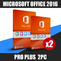 Microsoft office 2016 pro plus 2PC