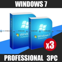Windows 7 Professional на 3пк