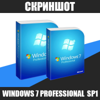 Скриншот Windows 7 Professional SP1