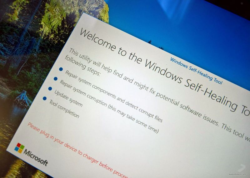 Windows Self-Healing - инструмент для устранения неполадок в Windows 10